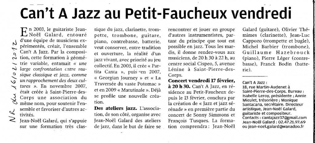 jazz & jazz serenade NR