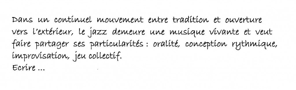 texte projets